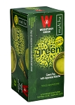 Wissotzky Green Tea with Japanese Matcha / Box of 25 bags
