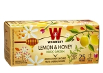 Wissotzky Lemon & Honey Tea / Box of 25 bags