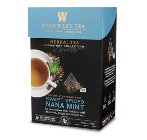 Wissotzky Tea Sweet Spiced Nana Mint